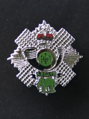 Highland Light Infantry lapel badge