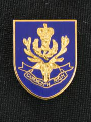 Queens Own Highlanders Lapel Badge