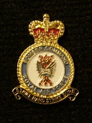 RAF Bomber Command lapel badge