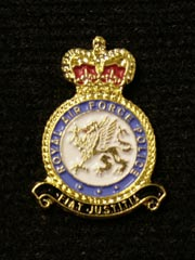 RAF Police Lapel Badge