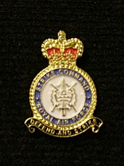 RAF Strike Command Lapel Badge