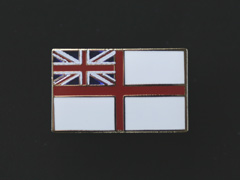 Royal Navy Ensign lapel badge