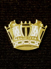 Royal Navy Coronet lapel badge