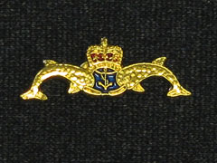 Submariners small lapel badge