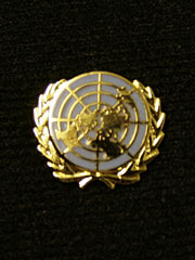 United Nations Lapel Badge