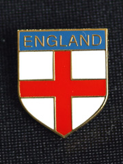 England Cross lapel badge