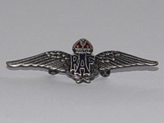 RAF Wings silver badge