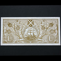 Scottish 1962 Bank of Scotland One Pound Banknote