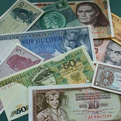 Selection of World Banknotes