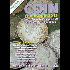 Coin Yearbook 2013, price guide and handbook