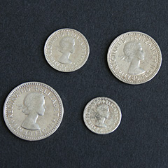 1969 Maundy 4 coin set