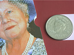 Queen Mother Centenary 5 Pounds Crown