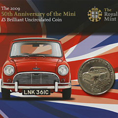 5 Pound 50th Anniversary of the Mini