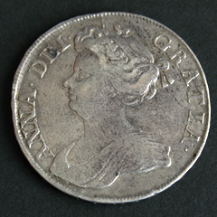 Anne I Half Crown 1712