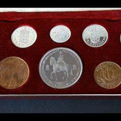 1953 Royal Mint British Proof Set with Crown