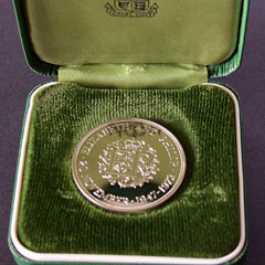 1972 Silver Wedding Proof Silver Coin