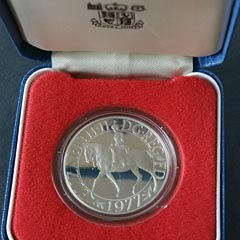 1977 Silver Jubilee Proof Crown
