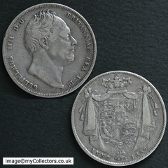 1837 William IV Halfcrown