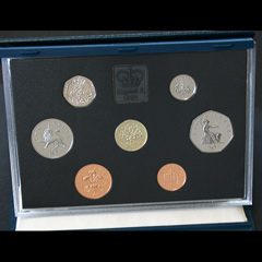 1991 Royal Mint Proof Coin Year Set