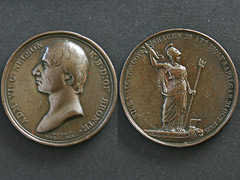 Horatio Nelson Medal Coin