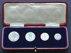 Silver Maundy 4 Coin Set