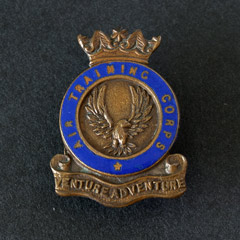 Air Training Corps Button Badge