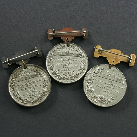 Victorian and Edward VII Attendance Medallions