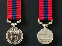 DCM George 6th Miniature Medal