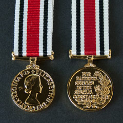 Miniature Special Constabulary Long Service Medal