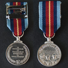 For National Service Miniature Medal
