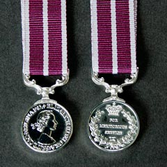 Meritorious Service Medal Miniature - QE2