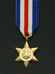 France and Germany Star Miniature Medal