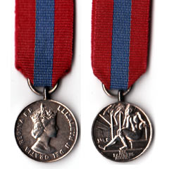 Imperial Service Miniature Medal