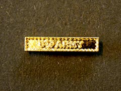Miniature Medal Clasp - 8th Army