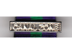Canal Zone bar for miniature GSM