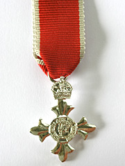 OBE Civil Miniature Medal Type 2
