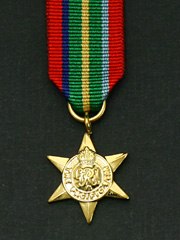 Pacific Star Miniature Medal