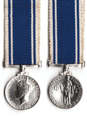 Police LSGC Miniature Medal