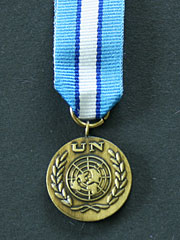 United Nations Cyprus Miniature Medal