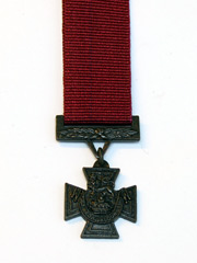 Miniature Victoria Cross VC Medal Image 2