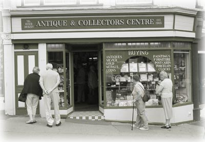 Antiques & Collectors Centre shop front
